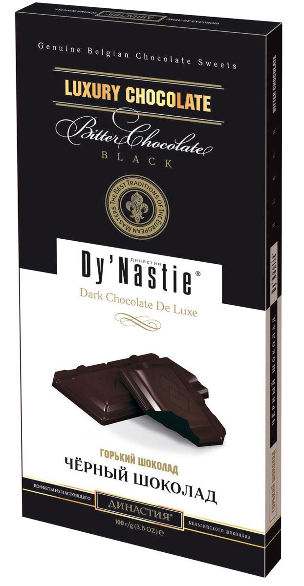 Династия Темный шоколад, 100 г ritter sport мята шоколад темный с мятной начинкой 100 г