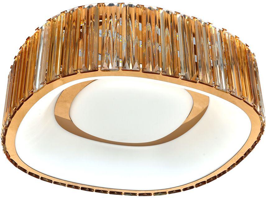 Люстра Riforma Hi-Tech, 1 х LED, 48W. 1-4790-FG Y LED1-4790-FG Y LEDКАЧЕСТВО ПОКРЫТИЯ. При покрытии корпуса светильников RiForma применяют новейшие технологииокрашивания и гальваники. Благодаря тщательной предварительной обработке поверхности и качественномупокрытию достигается равномерная и гладкая поверхность.НАДЕЖНОСТЬ ЭЛЕКТРИКИ. Электрика светильников RiForma соответствует европейским стандартам. Все проводапроходят тщательный контроль качества. Каждый провод должен иметь надежную изоляцию и диаметр сеченияне менее 0,75 мм. Это позволяет гарантировать безопасность и долговечность продукции.КАЧЕСТВО ПЛАФОНОВ. Все плафоны RiForma выполнены из прочного стекла либо акрила. При сборке светильниковиспользуются только отборные плафоны высшего сорта. На производстве каждый плафон проходит ручную проверку.Это исключает возможность сколов и брака.КАЧЕСТВО ХРУСТАЛЯ. В светильниках RiForma используется только качественный хрусталь высокой плотности.Благодаря сложной огранке хрустальные элементы приобретают яркий, лучистый блеск.Тщательная шлифовка придает хрусталю большую прозрачность,предохраняет от оседания пыли и загрязнений.