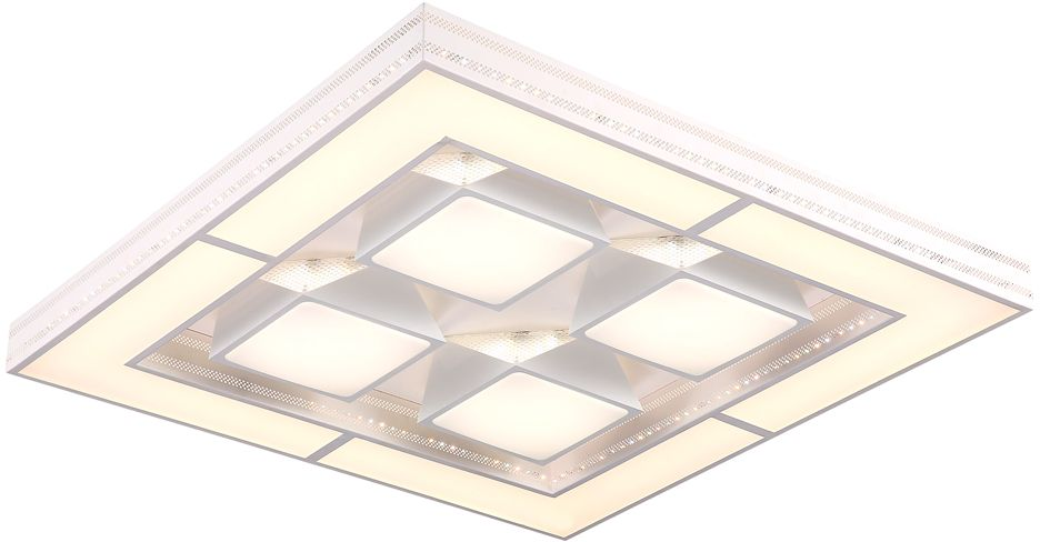 Люстра Riforma  Hi-Tech , 1 х LED, 120W. 1-5011-WH Y LED -  Светильники