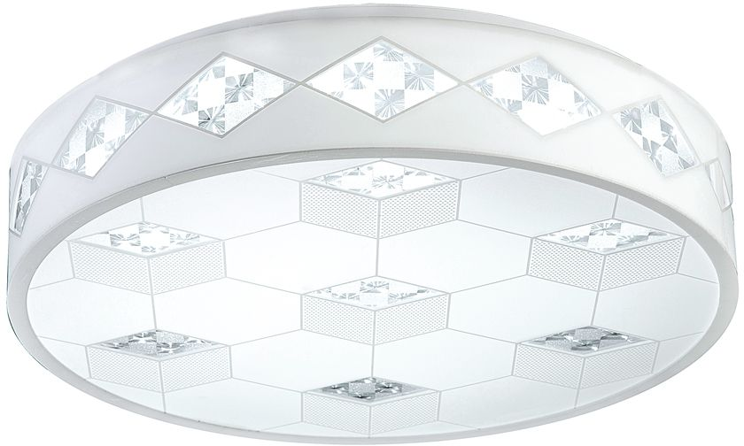 Люстра Riforma Hi-Tech, 1 х LED, 28W. 1-5037-WH LED1-5037-WH LEDКАЧЕСТВО ПОКРЫТИЯ. При покрытии корпуса светильников RiForma применяют новейшие технологииокрашивания и гальваники. Благодаря тщательной предварительной обработке поверхности и качественномупокрытию достигается равномерная и гладкая поверхность.НАДЕЖНОСТЬ ЭЛЕКТРИКИ. Электрика светильников RiForma соответствует европейским стандартам. Все проводапроходят тщательный контроль качества. Каждый провод должен иметь надежную изоляцию и диаметр сеченияне менее 0,75 мм. Это позволяет гарантировать безопасность и долговечность продукции.КАЧЕСТВО ПЛАФОНОВ. Все плафоны RiForma выполнены из прочного стекла либо акрила. При сборке светильниковиспользуются только отборные плафоны высшего сорта. На производстве каждый плафон проходит ручную проверку.Это исключает возможность сколов и брака.КАЧЕСТВО ХРУСТАЛЯ. В светильниках RiForma используется только качественный хрусталь высокой плотности.Благодаря сложной огранке хрустальные элементы приобретают яркий, лучистый блеск.Тщательная шлифовка придает хрусталю большуюпрозрачность,предохраняет от оседания пыли и загрязнений.