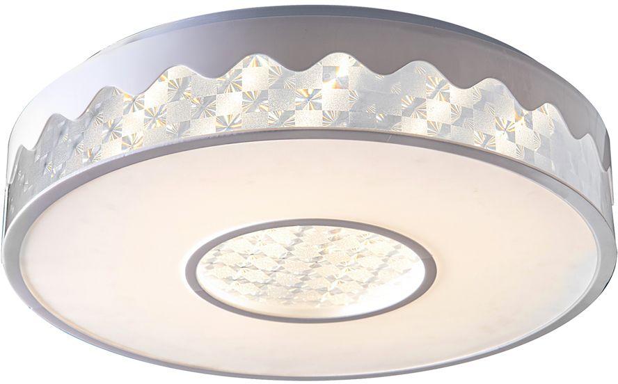 Люстра Riforma Hi-Tech, 1 х LED, 28W. 1-5038-WH Y LED1-5038-WH Y LEDКАЧЕСТВО ПОКРЫТИЯ. При покрытии корпуса светильников RiForma применяют новейшие технологииокрашивания и гальваники. Благодаря тщательной предварительной обработке поверхности и качественномупокрытию достигается равномерная и гладкая поверхность.НАДЕЖНОСТЬ ЭЛЕКТРИКИ. Электрика светильников RiForma соответствует европейским стандартам. Все проводапроходят тщательный контроль качества. Каждый провод должен иметь надежную изоляцию и диаметр сеченияне менее 0,75 мм. Это позволяет гарантировать безопасность и долговечность продукции.КАЧЕСТВО ПЛАФОНОВ. Все плафоны RiForma выполнены из прочного стекла либо акрила. При сборке светильниковиспользуются только отборные плафоны высшего сорта. На производстве каждый плафон проходит ручную проверку.Это исключает возможность сколов и брака.КАЧЕСТВО ХРУСТАЛЯ. В светильниках RiForma используется только качественный хрусталь высокой плотности.Благодаря сложной огранке хрустальные элементы приобретают яркий, лучистый блеск.Тщательная шлифовка придает хрусталю большуюпрозрачность,предохраняет от оседания пыли и загрязнений.