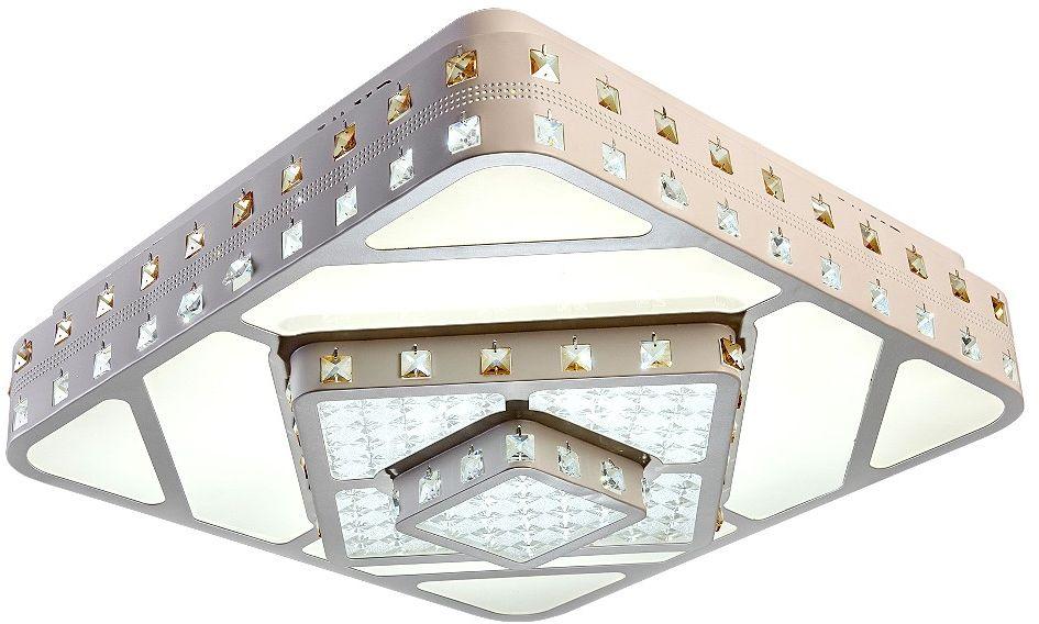 Люстра Riforma Hi-Tech, 1 х LED, 48W. 1-5039-WH Y LED1-5039-WH Y LEDКАЧЕСТВО ПОКРЫТИЯ. При покрытии корпуса светильников RiForma применяют новейшие технологииокрашивания и гальваники. Благодаря тщательной предварительной обработке поверхности и качественномупокрытию достигается равномерная и гладкая поверхность.НАДЕЖНОСТЬ ЭЛЕКТРИКИ. Электрика светильников RiForma соответствует европейским стандартам. Все проводапроходят тщательный контроль качества. Каждый провод должен иметь надежную изоляцию и диаметр сеченияне менее 0,75 мм. Это позволяет гарантировать безопасность и долговечность продукции.КАЧЕСТВО ПЛАФОНОВ. Все плафоны RiForma выполнены из прочного стекла либо акрила. При сборке светильниковиспользуются только отборные плафоны высшего сорта. На производстве каждый плафон проходит ручную проверку.Это исключает возможность сколов и брака.КАЧЕСТВО ХРУСТАЛЯ. В светильниках RiForma используется только качественный хрусталь высокой плотности.Благодаря сложной огранке хрустальные элементы приобретают яркий, лучистый блеск.Тщательная шлифовка придает хрусталю большуюпрозрачность,предохраняет от оседания пыли и загрязнений.