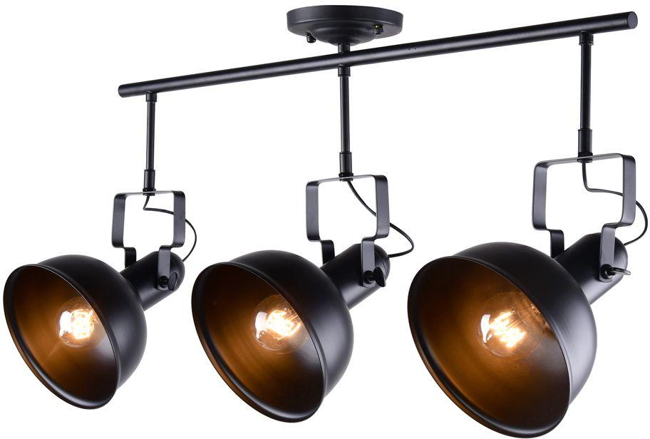 Спот Riforma Loft, 3 х E27, 40W. 1-8-3-BK E271-8-3-BK E27Насыщенность металлами, шнурами,лампочками Эдисона – вот атрибутысовременных модных тенденций виндустриальном светодизайне.Простое исполнение с точным расчетомнаправления светового потока позволяетдобавить эклектического шика винтерьер как квартиры, так и загородного дома.Серия Clear создана для того,чтобы сделать свет вокруг Васчистым и прозрачным.