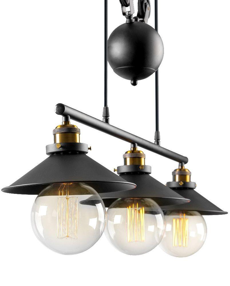 Люстра Riforma Loft, 3 х E27, 40W. 2-8889-3-BK E272-8889-3-BK E27Насыщенность металлами, шнурами,лампочками Эдисона – вот атрибутысовременных модных тенденций виндустриальном светодизайне.Простое исполнение с точным расчетомнаправления светового потока позволяетдобавить эклектического шика винтерьер как квартиры, так и загородного дома.Серия Clear создана для того,чтобы сделать свет вокруг Васчистым и прозрачным.