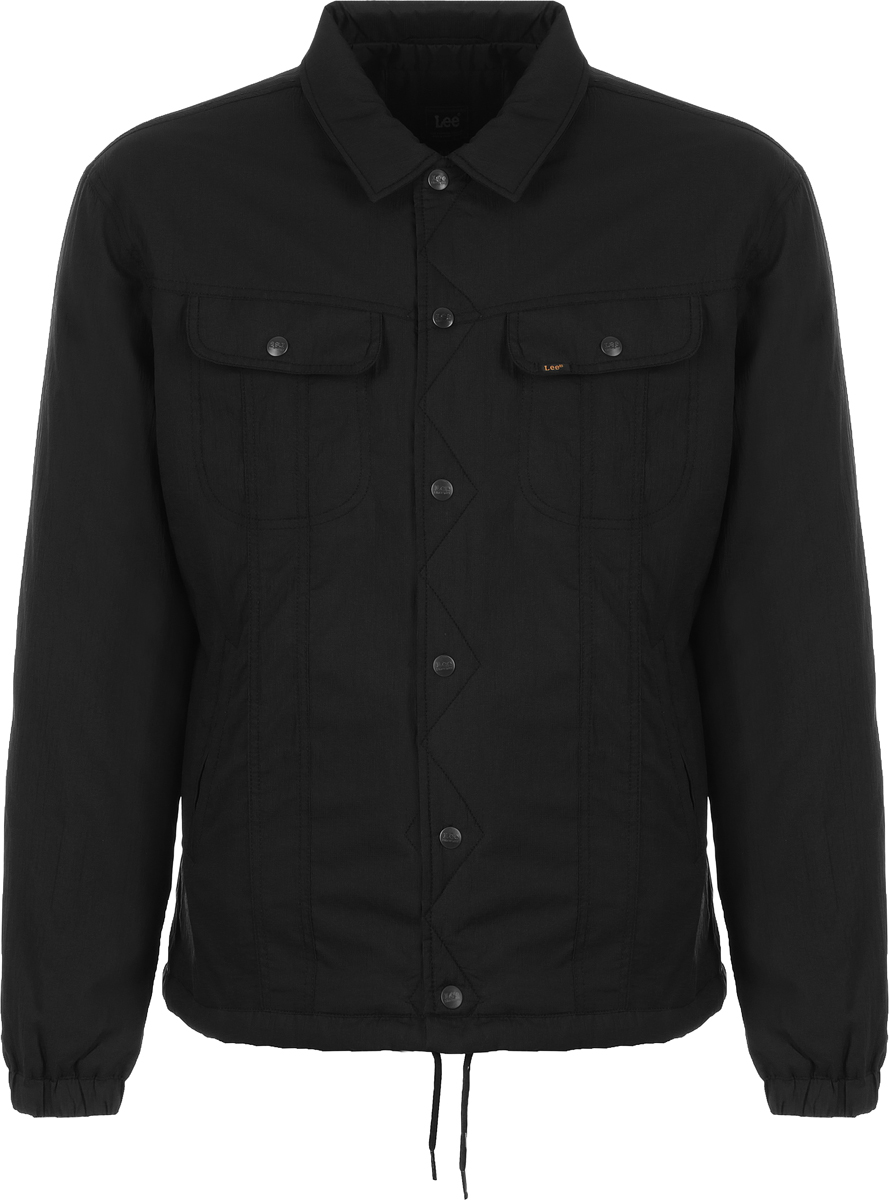 Купить Куртка мужская Lee, цвет: черный. L86MVV01. Размер S (46)