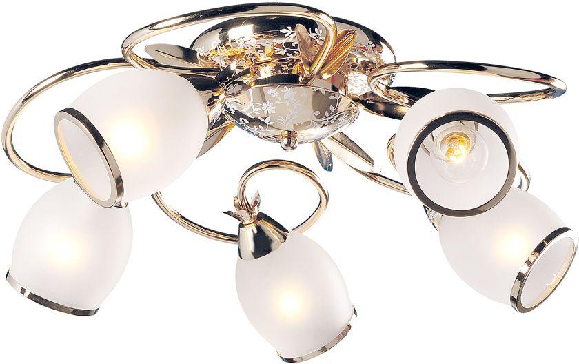 Люстра Максисвет Универсал, 5 х E14, 60W. 1-1058-5-FG E141-1058-5-FG E14В коллекции «Универсал» каждый сможет найти светильник на свой вкус и для любогопомещения: потолочные или подвесные люстры, с круглыми или квадратнымистеклянными плафонами, в форме фонариков или цветов.Разнообразные виды люстр и бра собраны в этой универсальной коллекции. Здесьпредставлены элегантные классические люстры, подвесы с плафонами из матового ипрозрачного стекла в стиле модерн, светильники с элементами ковки, текстильнымиабажурами и хрустальными декоративными элементами.Модели в коллекции «Универсал» объединяет демократичная цена, которая делаетразные по стилистике светильники одинаково доступными каждому покупателю.