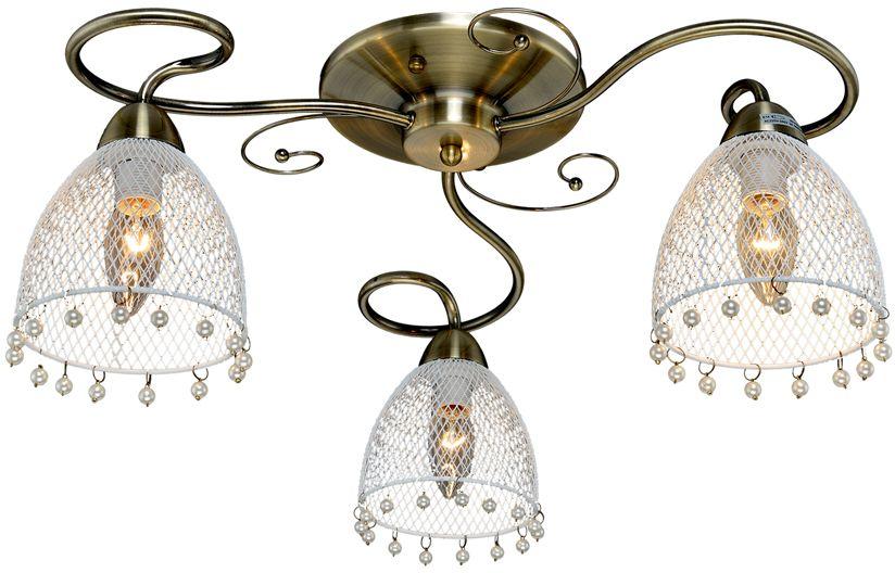 Люстра Максисвет Универсал, 3 х E14, 60W. 1-8556-3-AB E141-8556-3-AB E14В коллекции «Универсал» каждый сможет найти светильник на свой вкус и для любогопомещения: потолочные или подвесные люстры, с круглыми или квадратнымистеклянными плафонами, в форме фонариков или цветов.Разнообразные виды люстр и бра собраны в этой универсальной коллекции. Здесьпредставлены элегантные классические люстры, подвесы с плафонами из матового ипрозрачного стекла в стиле модерн, светильники с элементами ковки, текстильнымиабажурами и хрустальными декоративными элементами.Модели в коллекции «Универсал» объединяет демократичная цена, которая делаетразные по стилистике светильники одинаково доступными каждому покупателю.
