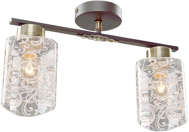 Люстра Максисвет Универсал, 2 х E14, 60W. 1-8580-2-BR+AB Е141-8580-2-BR+AB Е14В коллекции «Универсал» каждый сможет найти светильник на свой вкус и для любогопомещения: потолочные или подвесные люстры, с круглыми или квадратнымистеклянными плафонами, в форме фонариков или цветов.Разнообразные виды люстр и бра собраны в этой универсальной коллекции. Здесьпредставлены элегантные классические люстры, подвесы с плафонами из матового ипрозрачного стекла в стиле модерн, светильники с элементами ковки, текстильнымиабажурами и хрустальными декоративными элементами.Модели в коллекции «Универсал» объединяет демократичная цена, которая делаетразные по стилистике светильники одинаково доступными каждому покупателю.