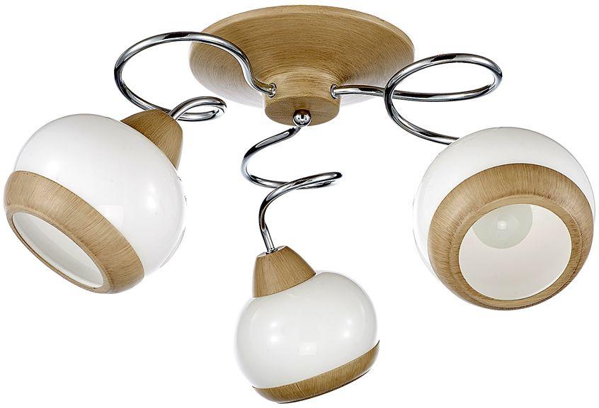 Люстра Максисвет Универсал, 3 х E14, 60W. 1-8592-3-WA+CR E141-8592-3-WA+CR E14Минималистическая серия потолочных светильников в коллекции Универсал:- выдувные белые глянцевые плафоны идеально рассеивают свет- серия светильников представлена в двух вариантах цветов каркаса – хром + светлый венге и античная бронза- плафоны светильника украшены металлическими кольцами в цвет основного каркаса