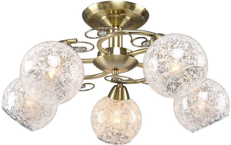 Люстра Максисвет Универсал, 5 х E14, 60W. 1-8615-5-AB Е141-8615-5-AB Е14В коллекции «Универсал» каждый сможет найти светильник на свой вкус и для любогопомещения: потолочные или подвесные люстры, с круглыми или квадратнымистеклянными плафонами, в форме фонариков или цветов.Разнообразные виды люстр и бра собраны в этой универсальной коллекции. Здесьпредставлены элегантные классические люстры, подвесы с плафонами из матового ипрозрачного стекла в стиле модерн, светильники с элементами ковки, текстильнымиабажурами и хрустальными декоративными элементами.Модели в коллекции «Универсал» объединяет демократичная цена, которая делаетразные по стилистике светильники одинаково доступными каждому покупателю.