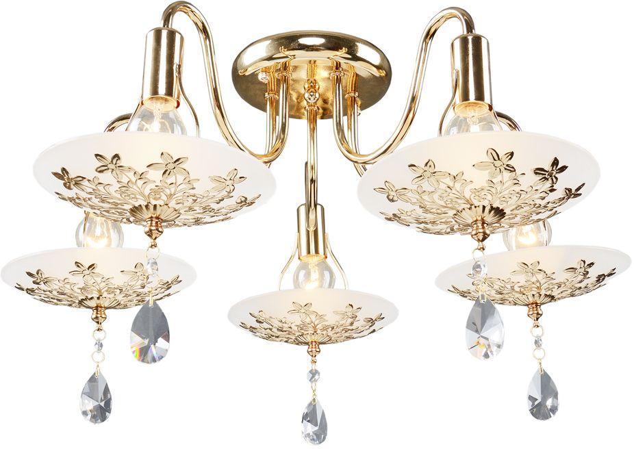 Люстра Максисвет Универсал, 5 х E14, 60W. 1-8640-5-FG Е141-8640-5-FG Е14В коллекции «Универсал» каждый сможет найти светильник на свой вкус и для любогопомещения: потолочные или подвесные люстры, с круглыми или квадратнымистеклянными плафонами, в форме фонариков или цветов.Разнообразные виды люстр и бра собраны в этой универсальной коллекции. Здесьпредставлены элегантные классические люстры, подвесы с плафонами из матового ипрозрачного стекла в стиле модерн, светильники с элементами ковки, текстильнымиабажурами и хрустальными декоративными элементами.Модели в коллекции «Универсал» объединяет демократичная цена, которая делаетразные по стилистике светильники одинаково доступными каждому покупателю.