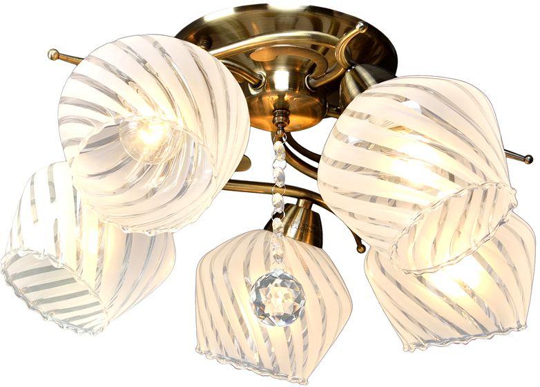 Люстра Максисвет Универсал, 5 х E14, 60W. 1-8810-5-AB E141-8810-5-AB E14В коллекции «Универсал» каждый сможет найти светильник на свой вкус и для любогопомещения: потолочные или подвесные люстры, с круглыми или квадратнымистеклянными плафонами, в форме фонариков или цветов.Разнообразные виды люстр и бра собраны в этой универсальной коллекции. Здесьпредставлены элегантные классические люстры, подвесы с плафонами из матового ипрозрачного стекла в стиле модерн, светильники с элементами ковки, текстильнымиабажурами и хрустальными декоративными элементами.Модели в коллекции «Универсал» объединяет демократичная цена, которая делаетразные по стилистике светильники одинаково доступными каждому покупателю.