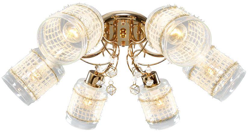Люстра Максисвет Универсал, 6 х E14, 60W. 1-8880-6-FG E141-8880-6-FG E14В коллекции «Универсал» каждый сможет найти светильник на свой вкус и для любогопомещения: потолочные или подвесные люстры, с круглыми или квадратнымистеклянными плафонами, в форме фонариков или цветов.Разнообразные виды люстр и бра собраны в этой универсальной коллекции. Здесьпредставлены элегантные классические люстры, подвесы с плафонами из матового ипрозрачного стекла в стиле модерн, светильники с элементами ковки, текстильнымиабажурами и хрустальными декоративными элементами.Модели в коллекции «Универсал» объединяет демократичная цена, которая делаетразные по стилистике светильники одинаково доступными каждому покупателю.