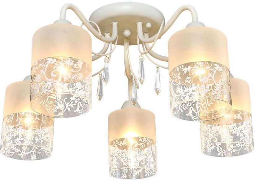 Люстра Максисвет Универсал, 5 х E14, 60W. 1-8885-5-BG E141-8885-5-BG E14В коллекции «Универсал» каждый сможет найти светильник на свой вкус и для любогопомещения: потолочные или подвесные люстры, с круглыми или квадратнымистеклянными плафонами, в форме фонариков или цветов.Разнообразные виды люстр и бра собраны в этой универсальной коллекции. Здесьпредставлены элегантные классические люстры, подвесы с плафонами из матового ипрозрачного стекла в стиле модерн, светильники с элементами ковки, текстильнымиабажурами и хрустальными декоративными элементами.Модели в коллекции «Универсал» объединяет демократичная цена, которая делаетразные по стилистике светильники одинаково доступными каждому покупателю.