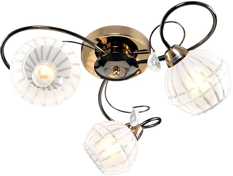 Люстра Максисвет Универсал, 3 х E14, 60W. 1-9320-3-FG+BK E141-9320-3-FG+BK E14В коллекции «Универсал» каждый сможет найти светильник на свой вкус и для любогопомещения: потолочные или подвесные люстры, с круглыми или квадратнымистеклянными плафонами, в форме фонариков или цветов.Разнообразные виды люстр и бра собраны в этой универсальной коллекции. Здесьпредставлены элегантные классические люстры, подвесы с плафонами из матового ипрозрачного стекла в стиле модерн, светильники с элементами ковки, текстильнымиабажурами и хрустальными декоративными элементами.Модели в коллекции «Универсал» объединяет демократичная цена, которая делаетразные по стилистике светильники одинаково доступными каждому покупателю.