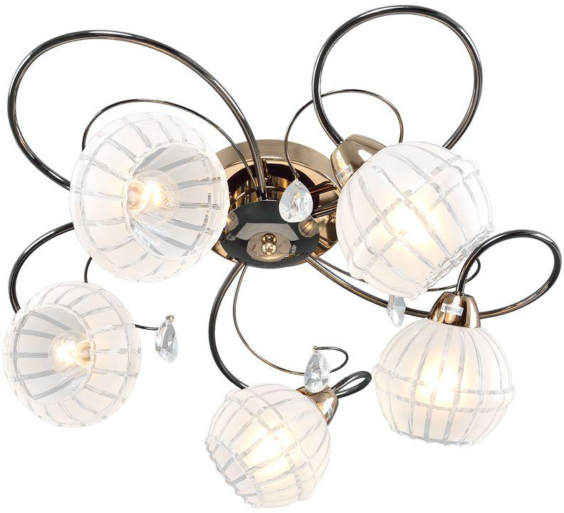 Люстра Максисвет Универсал, 5 х E14, 60W. 1-9320-5-FG+BK E141-9320-5-FG+BK E14В коллекции «Универсал» каждый сможет найти светильник на свой вкус и для любогопомещения: потолочные или подвесные люстры, с круглыми или квадратнымистеклянными плафонами, в форме фонариков или цветов.Разнообразные виды люстр и бра собраны в этой универсальной коллекции. Здесьпредставлены элегантные классические люстры, подвесы с плафонами из матового ипрозрачного стекла в стиле модерн, светильники с элементами ковки, текстильнымиабажурами и хрустальными декоративными элементами.Модели в коллекции «Универсал» объединяет демократичная цена, которая делаетразные по стилистике светильники одинаково доступными каждому покупателю.
