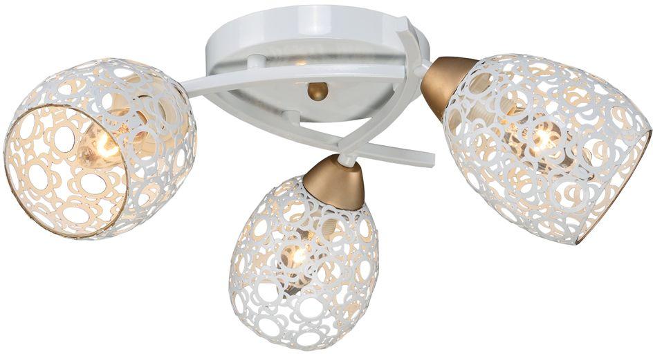 Люстра Максисвет Универсал, 3 х E27, 60W. 1-9350-3-WH+GL E271-9350-3-WH+GL E27В коллекции «Универсал» каждый сможет найти светильник на свой вкус и для любогопомещения: потолочные или подвесные люстры, с круглыми или квадратнымистеклянными плафонами, в форме фонариков или цветов.Разнообразные виды люстр и бра собраны в этой универсальной коллекции. Здесьпредставлены элегантные классические люстры, подвесы с плафонами из матового ипрозрачного стекла в стиле модерн, светильники с элементами ковки, текстильнымиабажурами и хрустальными декоративными элементами.Модели в коллекции «Универсал» объединяет демократичная цена, которая делаетразные по стилистике светильники одинаково доступными каждому покупателю.