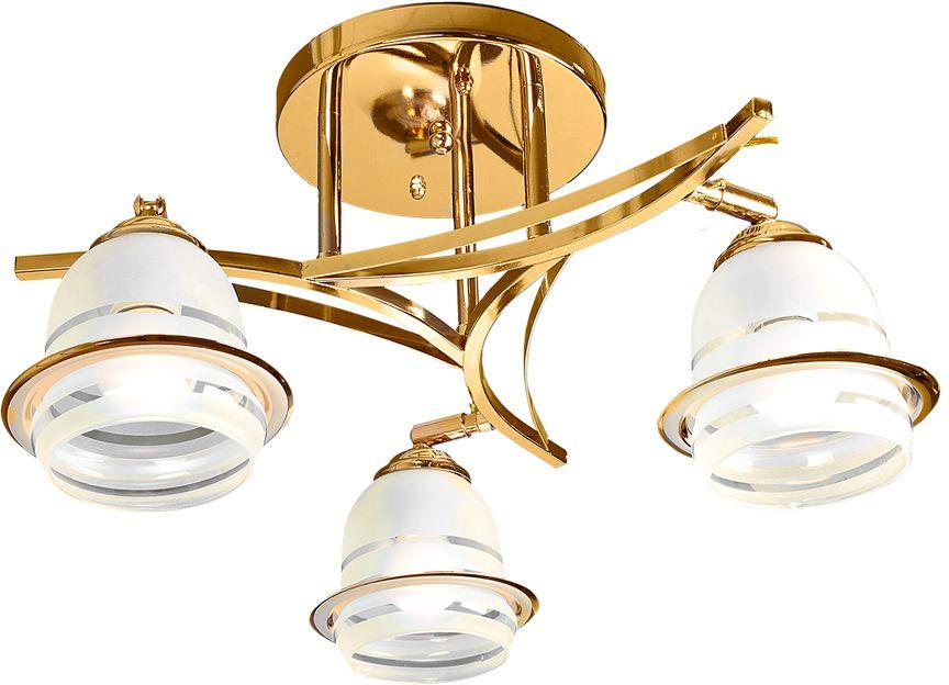 Люстра Максисвет Универсал, 3 х E27, 40W. 1-9611-3-FG E271-9611-3-FG E27В коллекции «Универсал» каждый сможет найти светильник на свой вкус и для любогопомещения: потолочные или подвесные люстры, с круглыми или квадратнымистеклянными плафонами, в форме фонариков или цветов.Разнообразные виды люстр и бра собраны в этой универсальной коллекции. Здесьпредставлены элегантные классические люстры, подвесы с плафонами из матового ипрозрачного стекла в стиле модерн, светильники с элементами ковки, текстильнымиабажурами и хрустальными декоративными элементами.Модели в коллекции «Универсал» объединяет демократичная цена, которая делаетразные по стилистике светильники одинаково доступными каждому покупателю.