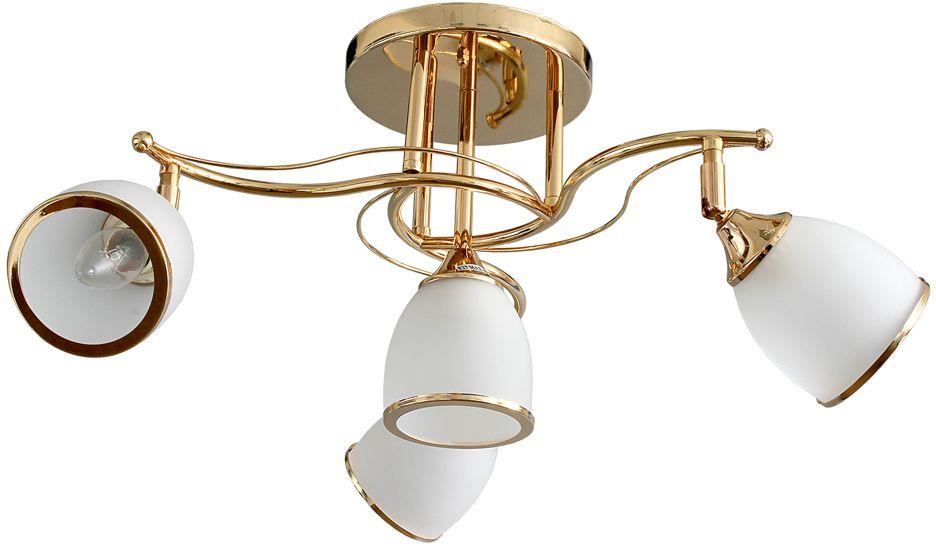 Люстра Максисвет Универсал, 4 х E27, 40W. 1-9617-3+1-FG E271-9617-3+1-FG E27В коллекции «Универсал» каждый сможет найти светильник на свой вкус и для любогопомещения: потолочные или подвесные люстры, с круглыми или квадратнымистеклянными плафонами, в форме фонариков или цветов.Разнообразные виды люстр и бра собраны в этой универсальной коллекции. Здесьпредставлены элегантные классические люстры, подвесы с плафонами из матового ипрозрачного стекла в стиле модерн, светильники с элементами ковки, текстильнымиабажурами и хрустальными декоративными элементами.Модели в коллекции «Универсал» объединяет демократичная цена, которая делаетразные по стилистике светильники одинаково доступными каждому покупателю.