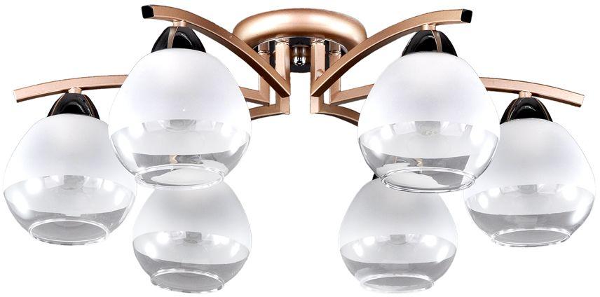 Люстра Максисвет Еврокаркасы, 6 х E27, 60W. 1-3020-6-mattFG+CR E271-3020-6-mattFG+CR E27Коллекция «Еврокаркасы» – это стильные светильники европейского дизайна,которые идеально впишутся в современные интерьеры.Лаконичные формы воплощены в матовом, граненом и тонированном стекле,которое обрамляют каркасы насыщенных темно-коричневых, кофейных цветов,цвета античной бронзы и, конечно, цвета дерева венге.Наши светильники ориентированы на массовый спрос, так как идеально подходятдля небольших по площади комнат с высотой потолка 2,50 – 2,70 м и гармоничносочетаются с корпусной мебелью широко распространенного цвета венге.