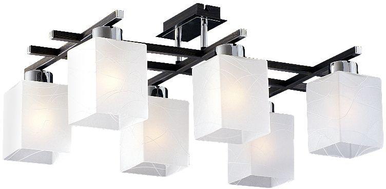 Люстра Максисвет Еврокаркасы, 6 х E27, 60W. 1-6106-6-CR+DWE E271-6106-6-CR+DWE E27Коллекция «Еврокаркасы» – это стильные светильники европейского дизайна,которые идеально впишутся в современные интерьеры.Лаконичные формы воплощены в матовом, граненом и тонированном стекле,которое обрамляют каркасы насыщенных темно-коричневых, кофейных цветов,цвета античной бронзы и, конечно, цвета дерева венге.Наши светильники ориентированы на массовый спрос, так как идеально подходятдля небольших по площади комнат с высотой потолка 2,50 – 2,70 м и гармоничносочетаются с корпусной мебелью широко распространенного цвета венге.