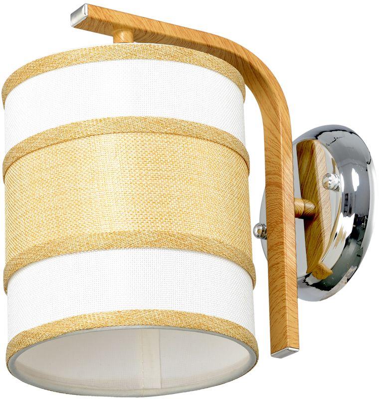 Бра Максисвет Еврокаркасы, 1 х E27, 60W. 3-3407-1-WA+CR E273-3407-1-WA+CR E27Серии подвесных светильников 3407 и 3408 выполнены в классическом польском стиле: - крупные текстильные плафоны дают теплый рассеянный свет и создают уютную атмосферу, - каркас выполнен из массива дерева цвета орех. При этом хромированные элементы каркаса делают светильники более современными и позволяют легко вписать люстру в интерьер с хромированной фурнитурой.