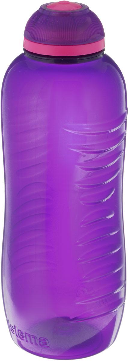 Бутылка для воды Sistema Twist n Sip, цвет: фиолетовый, розовый, 460 мл785NW_фиолетовый, розовыйБутылка для воды Sistema Twist n Sip, цвет: фиолетовый, розовый, 460 мл