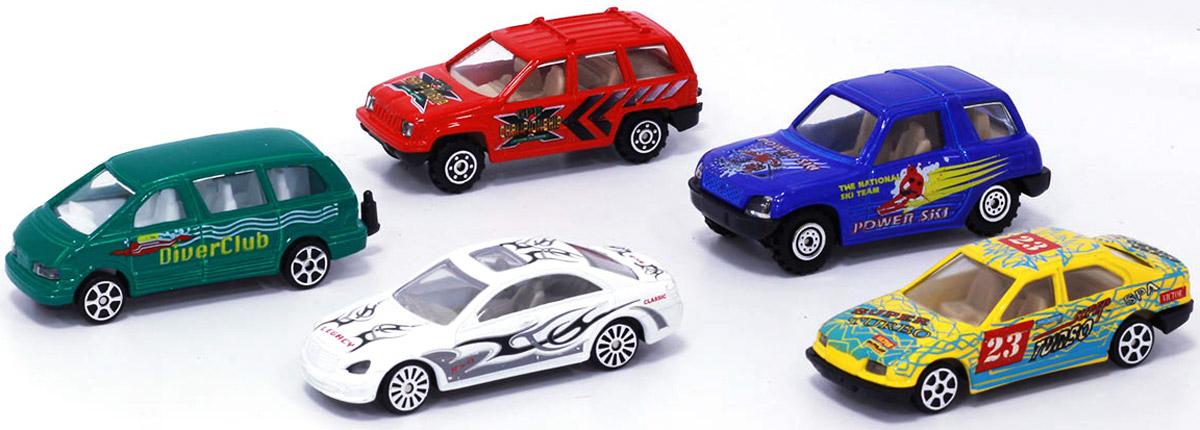 Pioneer Toys Набор машин 5 шт pioneer toys набор машин фура