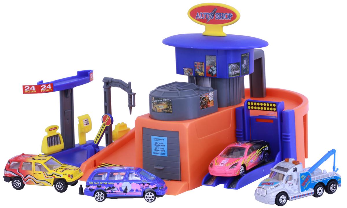 Pioneer Toys Набор машин с гаражом Auto Shop набор для домашнего кинотеатра pioneer htb 531 21tb