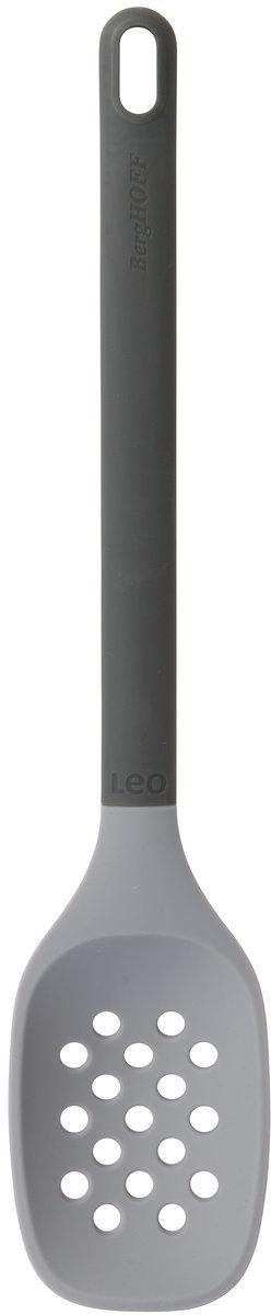 Шумовка BergHOFF Leo, нейлоновая, цвет: серый, длина 32 см3950103Коллекция LEO от BergHOFF - это яркие, оригинальные и практичные кухонные аксессуары, повышающие качество повседневной жизни.Все изделия изготовлены из высококачественных и безопасных современных материалов.Стильный дизайн, привлекательная цветовая гамма - каждое изделие гармонично впишется в интерьер современной хорошо оснащенной кухни.В серии представлены инструменты и аксессуары для работы с различными типами продуктов, а также предметы сервировки и оформления кухонного интерьера.Серия LEO - победитель престижного европейского конкурса Red Dot Design.