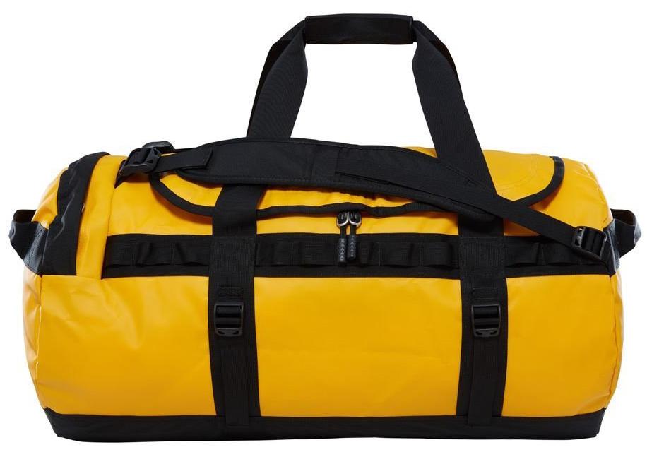 Сумка дорожная The North Face Base Camp Duffel, цвет: желтый, 71 л. T93ETPZU3