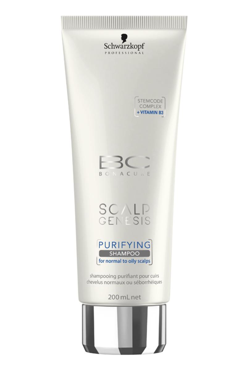 Bonacure Scalp Genesis Очищающий шампунь для волос, 200 мл шампунь кря кря дыня 200 мл