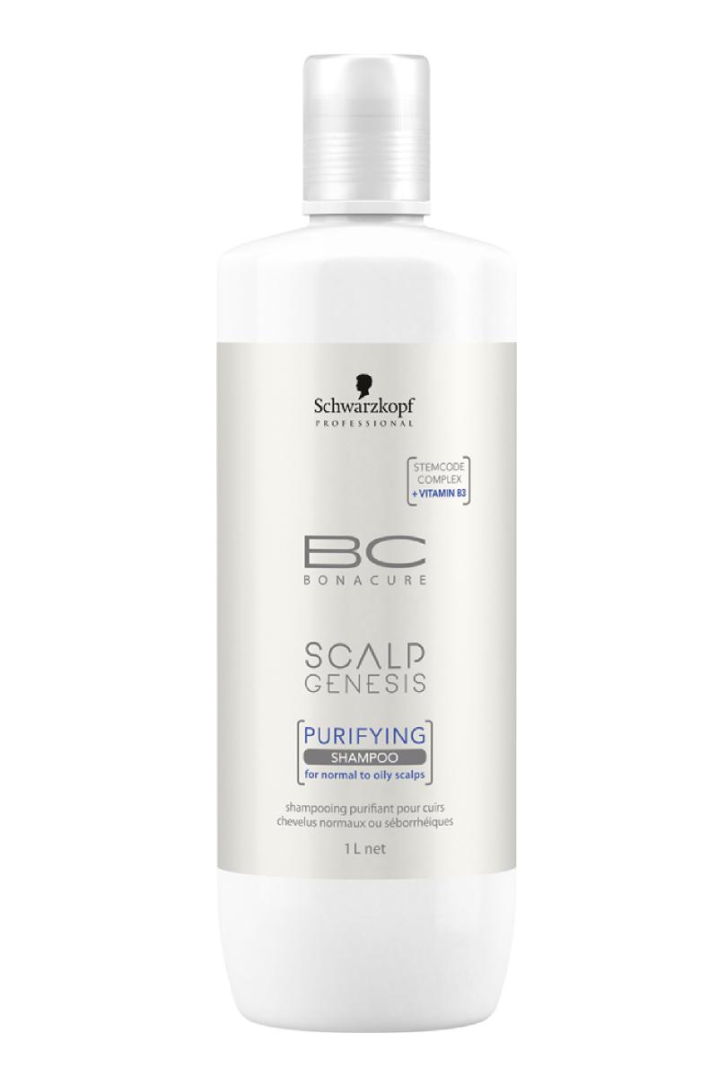 Bonacure Scalp Genesis Очищающий шампунь для волос, 1000 мл гели hlavin очищающий гель для жирной кожи