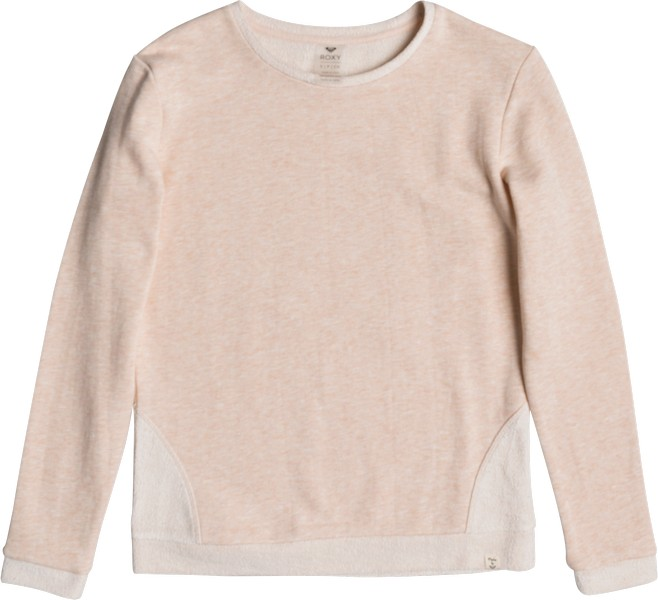 Свитшот женский Roxy Ready To Start, цвет: розовый. ERJFT03709-MDR0. Размер XS (40) roxy рюкзак женский roxy strpshades