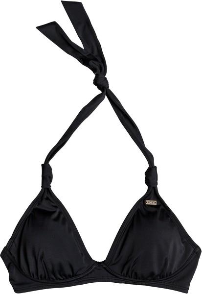 Лиф купальный женский Roxy, цвет: черный. ERJX303615-KVJ0. Размер XS (40) roxy шорты roxy memory holidays j ndst bta0 женские blue depths xs