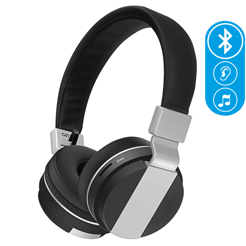 Ginzzu Headphone GM-351BT, Black наушники
