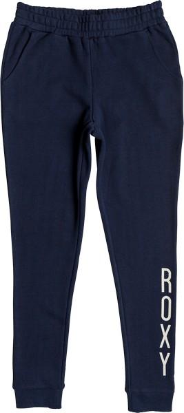 Брюки спортивные женские Roxy Chill Together, цвет: синий. ERJFB03162-BTK0. Размер M (44)ERJFB03162-BTK0Спортивные женские брюки Roxy выполнены из хлопка с добавлением полиэстера. Модель имеет широкую резинку на поясе. Брюки дополнены двумя открытыми втачными карманами спереди, брючины оснащены трикотажными манжетами по низу.