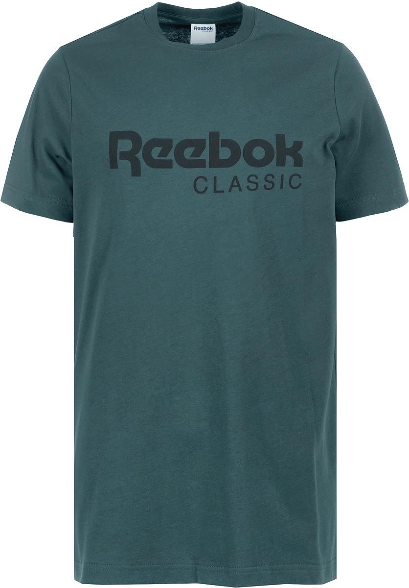 Футболка мужская Reebok Cl Tee, цвет: зеленый. CY7198. Размер XL (56/58) товары для спорта на льду reebok reebok reebok 3k