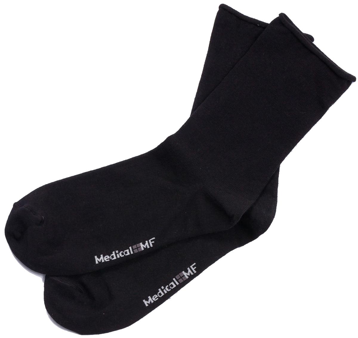 Носки мужские Mark Formelle, цвет: черный. 008M-491_8008M. Размер 42/43008M-491_8008M