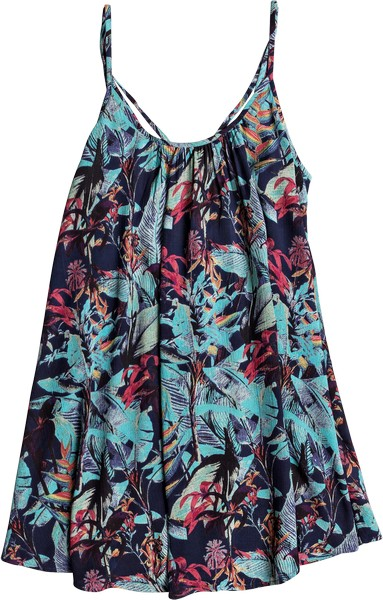Сарафан Roxy Windy Fly Away Printed, цвет: синий. ERJX603106-BTK6. Размер XS (40) сарафан roxy windy fly away dress цвет фуксия erjx603012 mlj0 размер xs 40