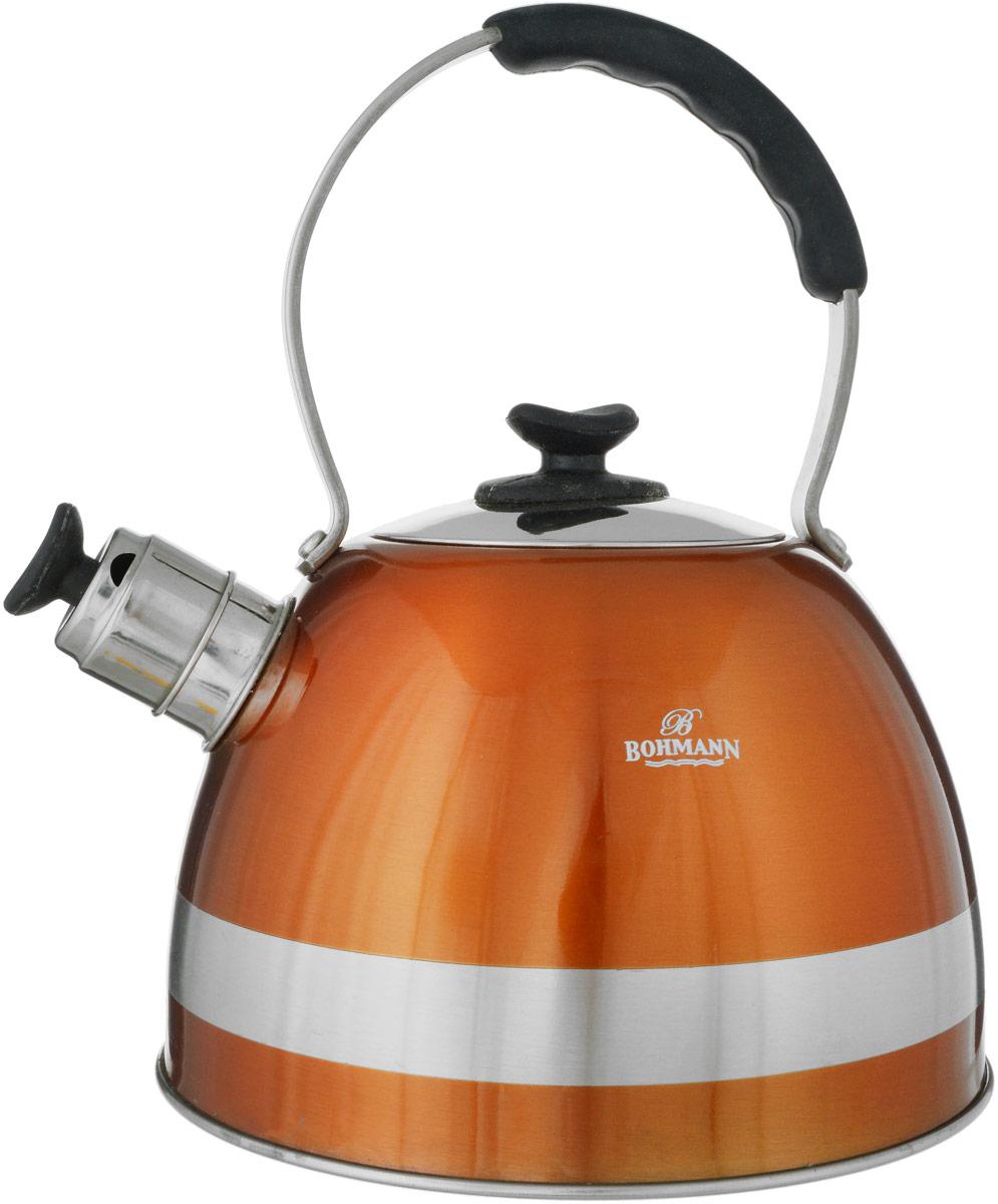 Чайник Bohmann, со свистком, 2,5 л. 9996BH чайник bohmann bhl 642 gdo