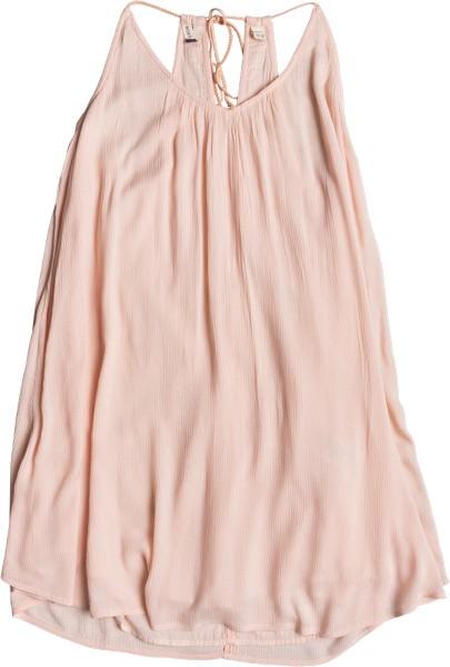 Сарафан Roxy Great Intentions, цвет: розовый. ERJWD03195-MDR0. Размер S (42)ERJWD03195-MDR0Яркий сарафан Roxy выполнен из легкого струящегося материала. Модель длины миди на бретельках завязывается на спине.