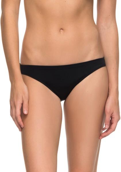 Плавки купальные женские Roxy Surfer, цвет: черный. ERJX403462-KVJ0. Размер S (42) шорты пляжные женские roxy love цвет синий белый коралловый erjbs03065 pqf6 размер 42 s