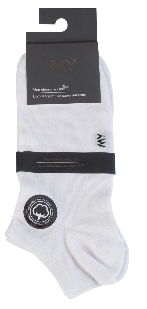 Носки женские Mirey, цвет: белый. MSC 007. Размер (35/37)MSC 007Классические женские носки от Mirey выполнены из хлопка с эластаном.Усиленный мысок и пятка, двойная резинка сетка, плоский шов.