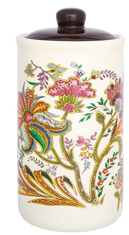 Банка для сыпучих продуктов Elan Gallery изготовлена из прочной керамики высокого качества. Изделие оформлено красочным изображением. Гладкая и ровная глазурованная поверхность обеспечивает легкую очистку. Банка прекрасно подойдет для хранения различных сыпучих продуктов: специй, чая, кофе, сахара, круп и многого другого. В комплекте идет крышка, что помогает дольше сохранять свежесть продуктов.Яркий дизайн подарит вам хорошее настроение и украсит вашу кухню!