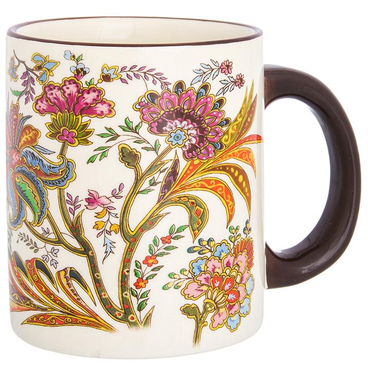 Кружка Elan Gallery Цветочная радуга, цвет: мультиколор, 300 мл elan gallery кружка цветочная симфония на красном