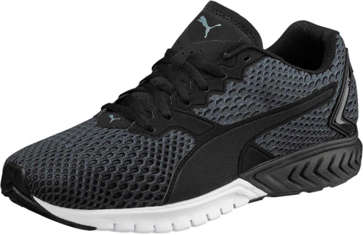 Кроссовки для бега мужские Puma Ignite Dual New Core, цвет: черный. 19048901. Размер 10,5 (44)