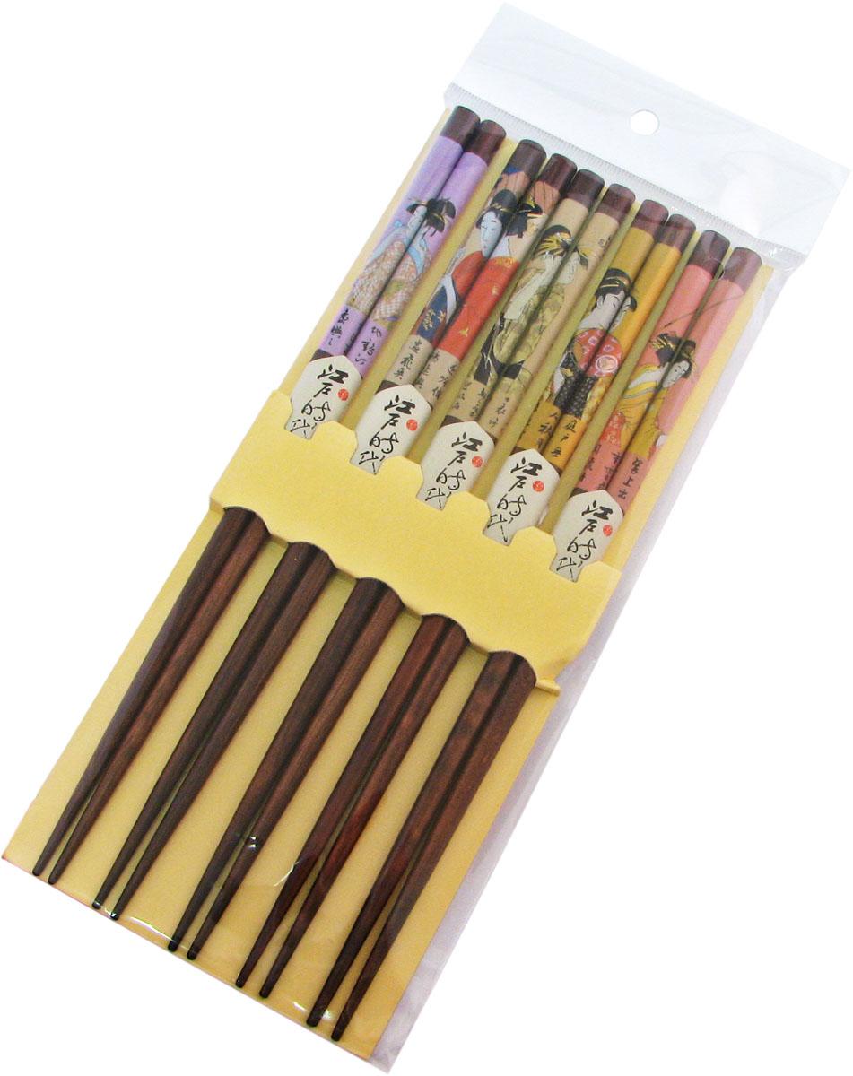 Палочки бамбуковые, цвет: коричневый, 10 шт. 40358 набор для кухни pasta grande 1126804