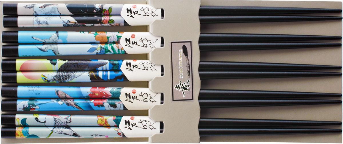 Набор палочек, цвет: черный, 10 шт