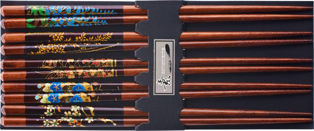 Палочки бамбуковые, цвет: коричневый, 10 шт. 40429 набор для кухни pasta grande 1126804